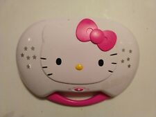 Hello Kitty Karaoke and CD Player -  Sanrio 2013. No Mic.