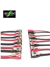 Battery Cable Ends Copper Top Post Terminal Connectors 4 Gauge Thur 4/0 W/ Boots