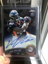 🔥2011 Topps Chrome Von Miller On Card Auto Rookie