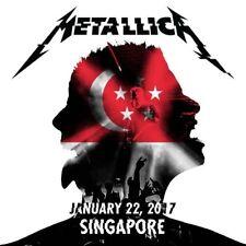METALLICA / World Wired Tour / LIVE / Indoor Stadium, Singapore - Jan 22, 2017