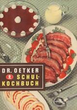 Schulkochbuch Reprint von 1952 von Dr.Oetker (2016, Taschenbuch)