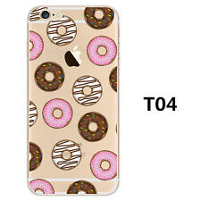 Ultra Thin Crystal Clear Pattern Soft TPU Case Cover For iPhone SE 5 6s 7 8 Plus