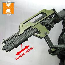 Hot Custom 1/6scale Toys Aliens Alien M41A Pulse Rifle Ellen Ripley Machine Gun
