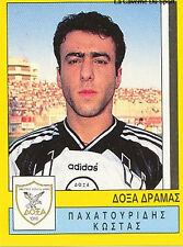 N°083 PLAYER DOXA DRAMA GREECE HELLAS PANINI GREEK LEAGUE FOOT 95 STICKER 1995