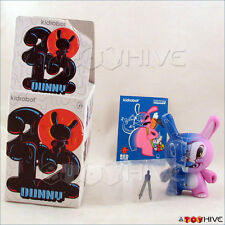 Kidrobot Dunny 2012 series figure Blue Print by Sergio Mancini complete with box