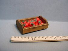 Miniature Tomatoes (24) & Crate #BF031 - 1/12th Scale