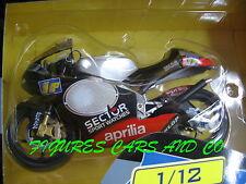 MOTO GP   1/12  APRILIA RSV 250 MARCO MELANDRI 2002