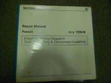 1998 1999 2000 2001 VW PASSAT Electrical Wiring Diagram Service Repair Manual