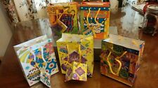 "Lot of 10 ""Happy Birthday"" Gift Bags ~  5 Styles ~ Small but Perfect"