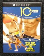 Beach Body Tony Horton's 10 Minute Trainer 2 DVD Set 5 Workouts 2008 Exercise