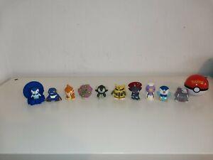 Pokemon Toy Bundle x11 Items Finger Puppets Bandai Nintendo Burger King Pokeball