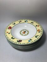 *Set of 6* Victoria & Beale Fine China Savannah 9060 Rimmed Soup Bowl 8 3/4""