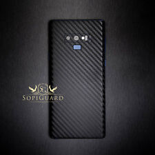 SopiGuard Carbon Fiber Sticker Skin Back for Samsung Galaxy Note 9