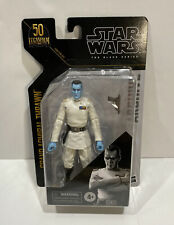 Star Wars The Black Series Archive Grand Admiral Thrawn Toy 6-Inch- Damaged Box