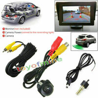 New CCD Reverse Backup Car DVD Rear View Night Universal DC 12V Vision Camera