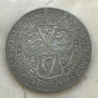 1900 Great Britain Florin - Nice Silver