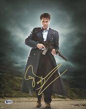 John Barrowman Signed 11x14 Photo BAS Beckett COA Doctor Who Torchwood Autograph