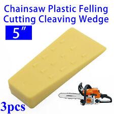 Kshzmoto 1 Pz 14 cm Arancione in plastica abbattimento cuneo abbattuto cuneo albero da taglio cuneo a spillo strumento per tagliare il legno
