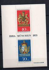 Bund Block 9 IBRA München 1973 Postfrisch