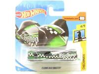 Hotwheels Cloak and Dagger Checkmate Black/Green Short Card 1 64 Scale Sealed