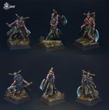 Confrontation Drune Wraiths x 3 (Undead Barbarians, Chaos, Zombies, OOP)