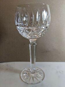 "Waterford Crystal MAEVE Wine Glass Ireland EUC 7 3/8"" tall"