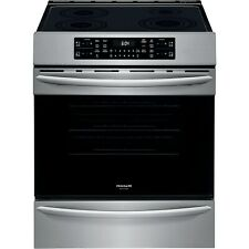 """Frigidaire Stainless 30"""" Induction Front Control Freestanding Range Fgih3047Vf"""