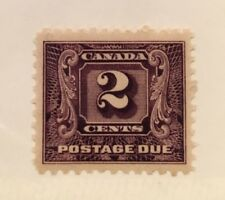 Canada Postage Due J7 Two Cent MNH