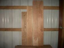 "4 Pc Cherry Boards Wood Wide Kiln Dried 1/2"" Thick Lot 94Z Flat"