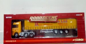 Corgi Road Scene Limited Edition Mercedes Actros Curtainside CC18205 (New/Boxed)