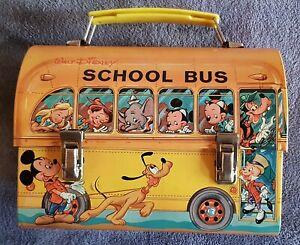 Disney-Lunch School  Bus-Vintage-s.Fotos und lesen Sie unbedingt die Story dazu.