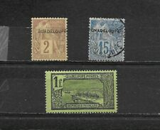 Guadeloupe. #15, 19c, 79  $ 100