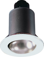R63 FIXED WHITE DOWNLIGHT  E27 60W MAX - MAINS VOLTAGE OLD STYLE SPOT LIGHT