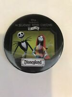 Disney THE NIGHTMARE BEFORE CHRISTMAS 25 Year Anniversary Button Pinback PIN