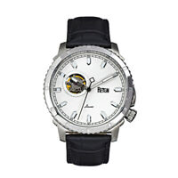 Reign Bauer Automatic White Dial Men's Watch REIRN6001
