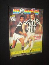 MAGAZINE MONDIAL HORS-SERIE N° 61 1985 SPECIAL BORDEAUX JUVENTUS C1 + POSTER