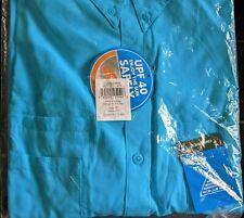 NEW COLUMBIA PFG Tamiami Men's 2XT LS Shirt BIG & TALL XXL 2XL Aqua Blue Fishing