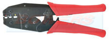 HEAVY DUTY RATCHET CRIMPING TOOL PLIERS FOR PRE-INSULATED / HEATSHRINK TERMINALS