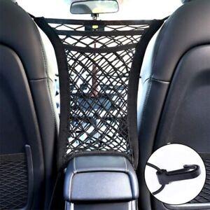 Universal 3-Layer Car Mesh Organizer Storage Seat Back Net Bag Tissue Holder AUS