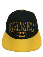 Batman Baseball Cap Dark Knight Snapback Hat Black DC Comics Cap Adjustable