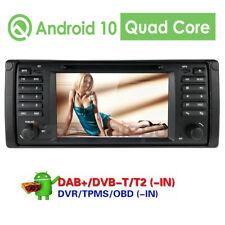 "7"" Android 10 Car GPS Stereo DVD Player Radio DAB OBD Head Unit for BMW E39 E38"