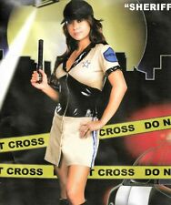 Sexy Police Woman Costume Ladies Officer Rita Dem Rights Lady Cop Uniform Womens