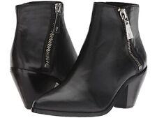 Frye Lila Zip Short Boots Black NEW Size 9.5 Retail $328