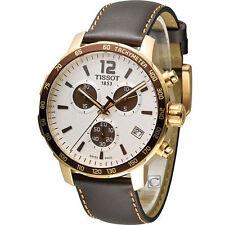Tissot Genuine Leather Strap Unisex Wristwatches