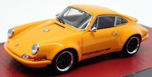 Matrix 1/43 Scale MX41607-082 - 2014 Porsche 911 Singer Design - Orange
