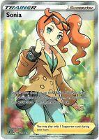 Sonia 192/192 - Full Art Trainer - Ultra Rare - Pokemon Sword and Shield...