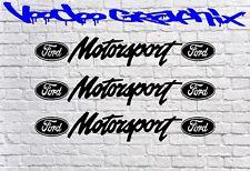 Ford Motorsport 3x ventana de Sticker Focus Fiesta St Rs modificado TDCi 15cmx2.5cm