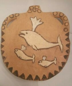 Possible Inuit Primitive Canteen handmade water holder