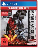 PS4 Metal Gear Solid V 5 The Definitive Edición Phantom Pain & Ground Zeroes Neu