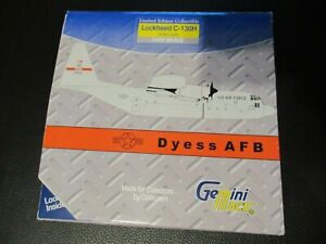 Gemini Jets 1:400 USAF C130 Dyess AFB Excellent Condition in Box